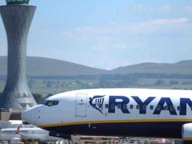 Ryanair intends to resume 64 routes from Edinburgh Airport in June and July. Picture: Neil Hanna.