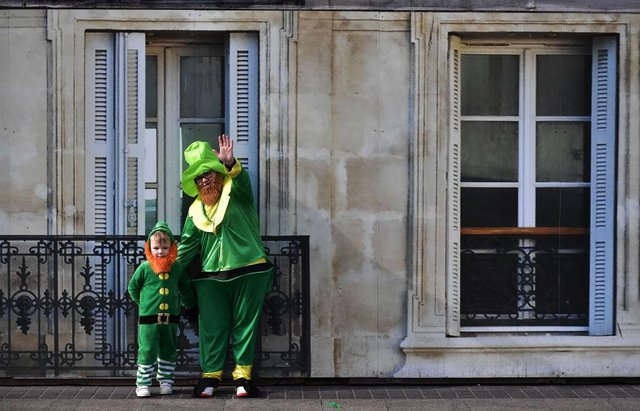 According to legend Saint Patrick used the three-leaved shamrock to explain the Holy Trinity to Irish pagans in the 5th-century after becoming a Christian missionary. (Picture: Getty Images)