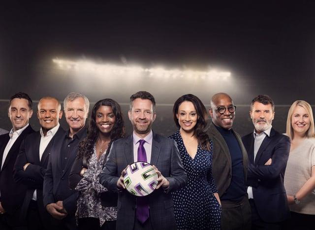 ITV's pundit panel. Photo credit ITV.