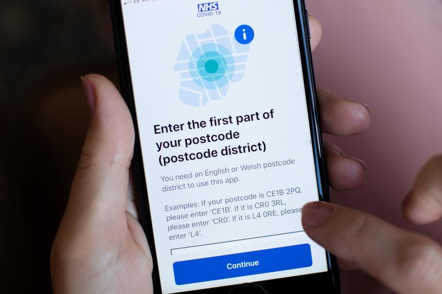 The NHS Track and Trace app launches in England and Wales today (Photo by Dan Kitwood/Getty Images)