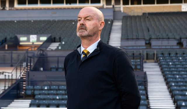 Scotland manager Steve Clarke can look into the future with plenty options.