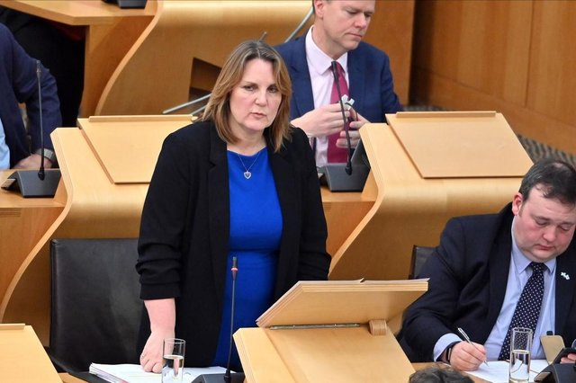 Michelle Ballantyne has been named as the Scottish leader of Reform UK (Getty Images)