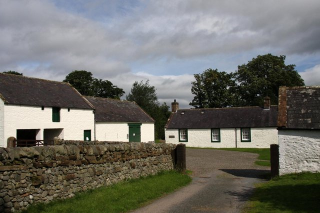 Robert Burns lived at Ellisland Farm in Dumfries and Galloway from 1788 until 1791.