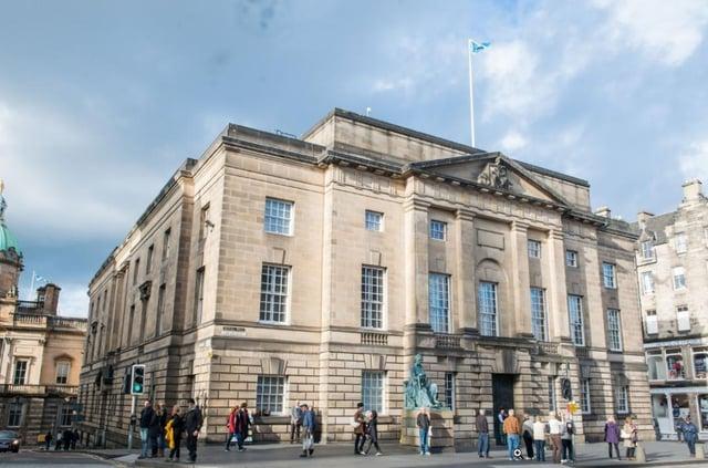 The High Court in Edinburgh. Pic: Ian Georgeson