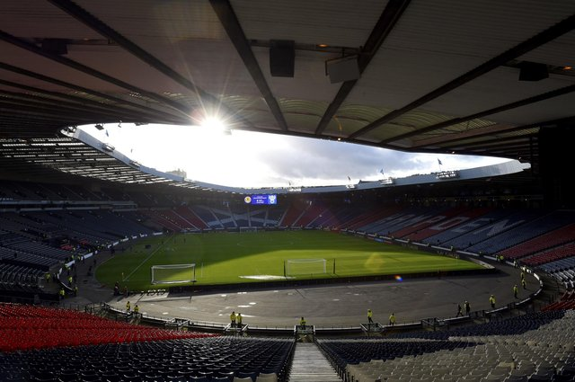 """Scotland fans have been given Euro 2020 encouragement after Nicola Sturgeon declared optimism that there would be a """"reasonably good number"""" of supporters at Hampden Park, Glasgow (Photo: Ian Rutherford/PA Wire)."""