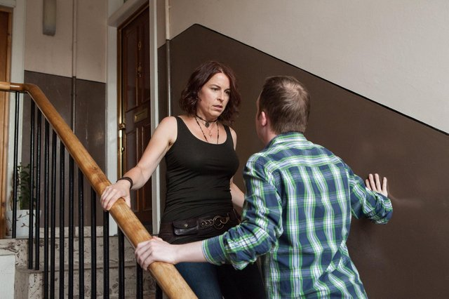 More than two million people experience domestic abuse each year (Picture: Laura Dodsworth/Zero Tolerance)