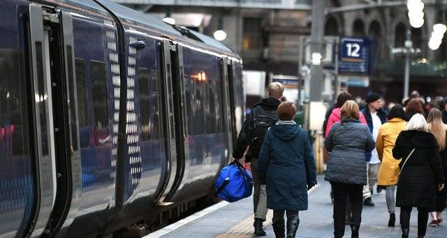 ScotRail has seen a dramatic reduction in passengers. Picture: John Devlin