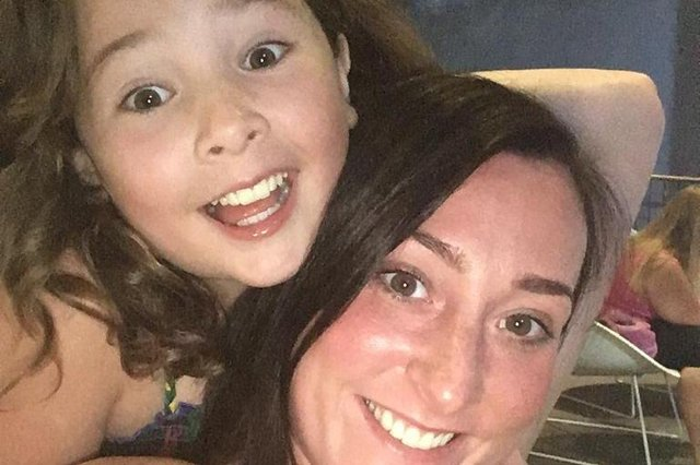 Kimberly Darroch and her daughter Milly Main, who died at the age of 10 in 2017 as a result of a water-borne infection in the hospital where she was treated for leukaemia.