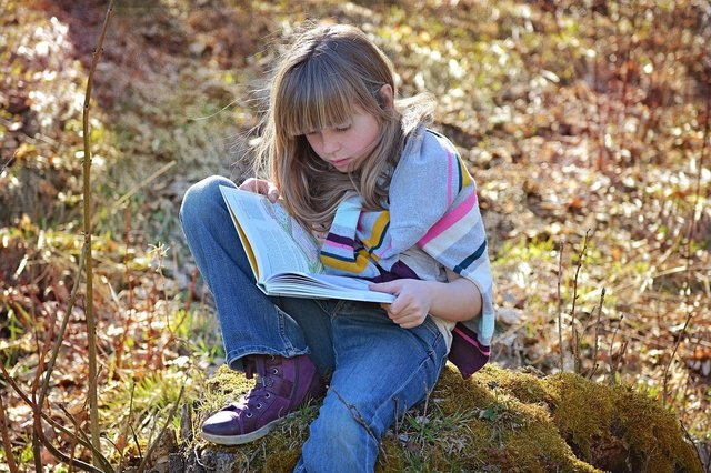 Children said they had found comfort in reading during lockdown.