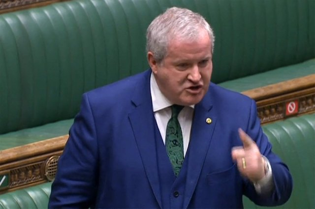 SNP Westminster leader Ian Blackford responding to the Budget statement