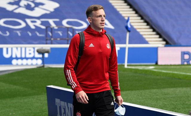 Lewis Ferguson has been advised to leave Aberdeen by uncle Barry. Picture: SNS