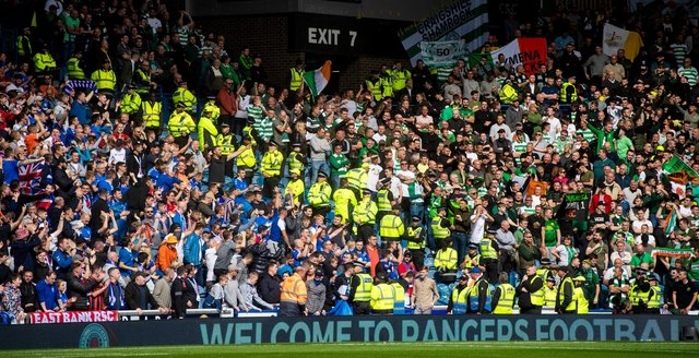 The first Old Firm showdown is set to take place in October. Picture: SNS