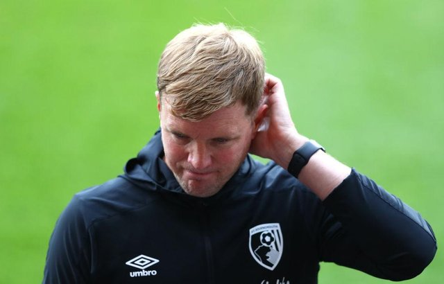 Eddie Howe won't be the next Celtic boss. Picture: SNS