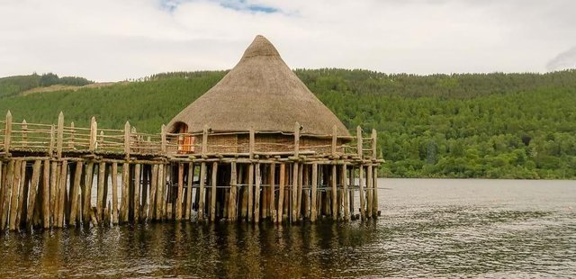 The Crannog could be redeveloped on site on the north of the shore