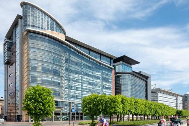 The 79,300 sq ft landmark office development 200 Broomielaw is undergoing an extensive programme of works.