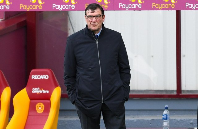 Tommy Wright was not happy with how Kilmarnock started at Motherwell.