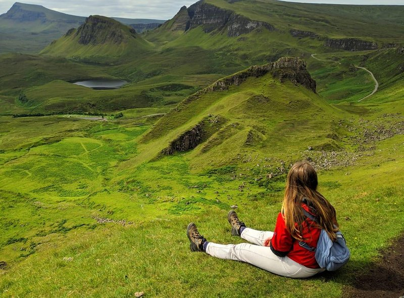 Birgit Stuer took this picture on a day out to the Quiraing on the Isle of Skye.