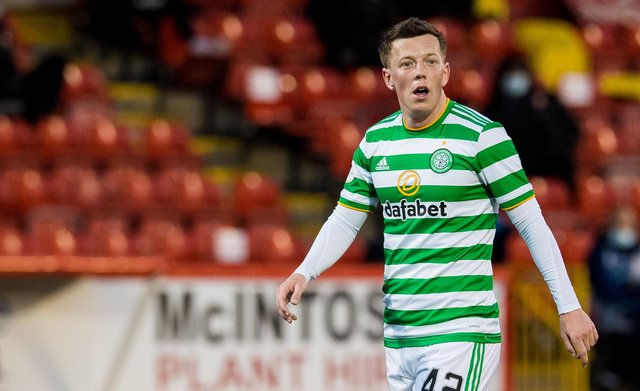 Callum McGregor maintains stopping Rangers in their bid to go unbeaten throughout their league campaign is not the main driver for his team in the final derby. (Photo by Ross Parker / SNS Group)