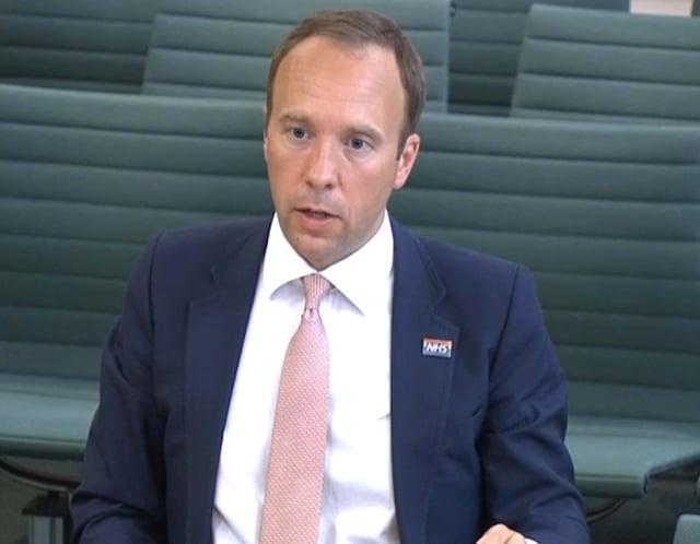 Matt Hancock denied lying to the Prime Minister