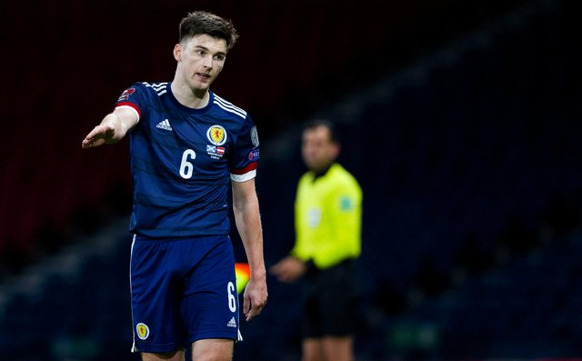 Scotland and Arsenal full-back Kieran Tierney. Picture: SNS