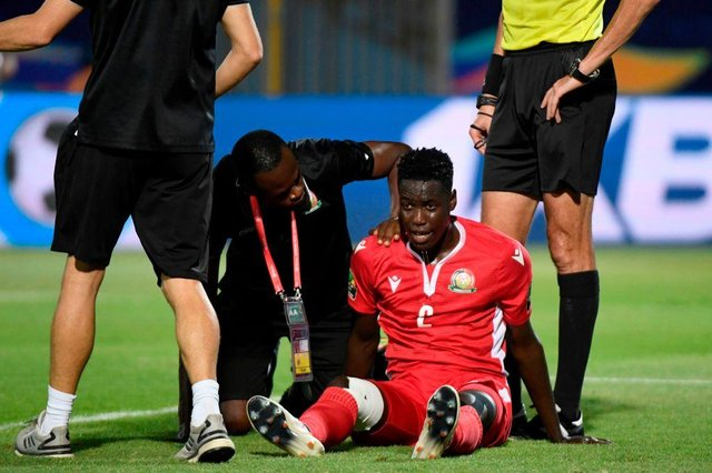 The latest Scottish football transfer news as Kenyan defender Joseph Okumu is linked with Celtic and Rangers. Picture: KHALED DESOUKI/AFP via Getty Images