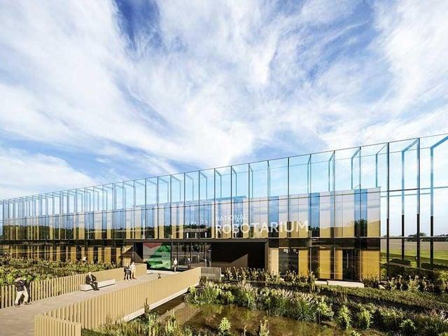 The National Robotarium is currently under construction at Heriot Watt campus in Edinburgh