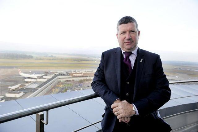 Edinburgh Airport chief executive Gordon Dewar.