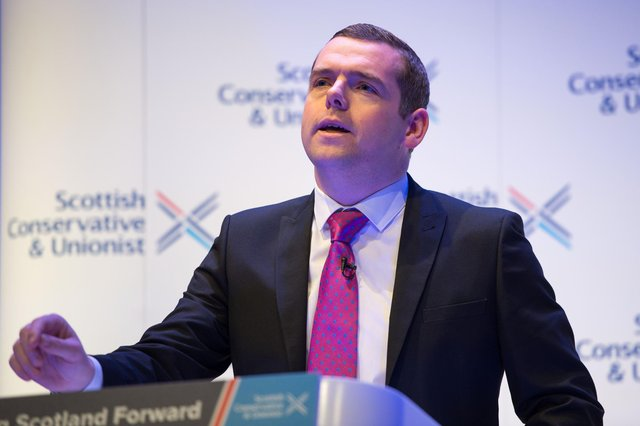 Douglas Ross has proposed a unionist coalition to block the SNP's route to power