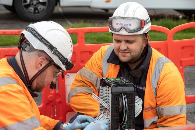 Openreach has outlined plans to build 'ultrafast, ultra-reliable' full-fibre broadband to at least three million more homes and businesses – including more than 300,000 in Scotland.