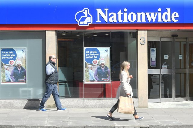Nationwide Building Society retains a sizeable branch network. Picture: Greg Macvean