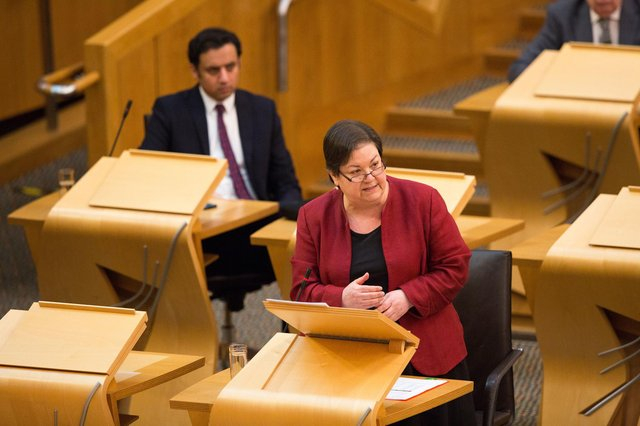 Jackie Baillie at First Minister's Questions.