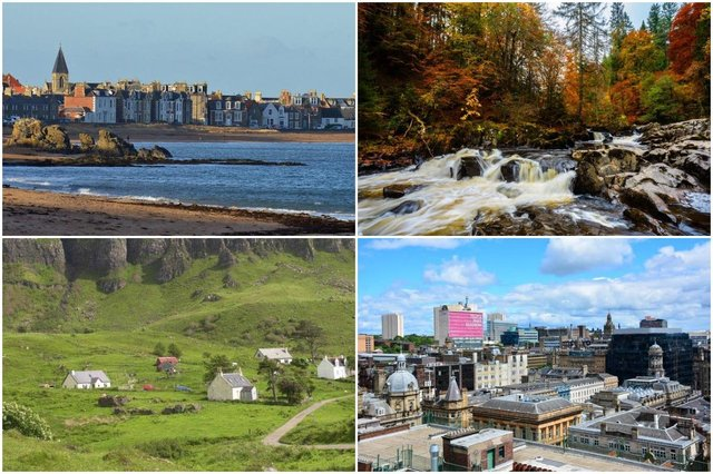 Sunday Times Best Places to Live guide reveals Scotland's top eight places to live.