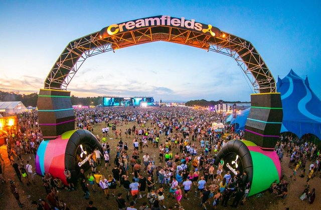 The Cheshire festival is usually attended by around 80,000 people from across the UK and abroad (Creamfields/Geoffrey Hubbel)