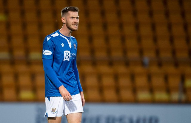 """Jamie McCart says """"character and strength"""" throughout the St Johnstone side have been the keys to their cup heroics this season. (Photo by Craig Foy / SNS Group)"""