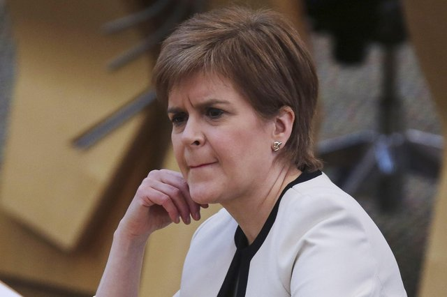 If Nicola Sturgeon does resign she may choose to do so after a Pyrrhic victory in May's Scottish Parliament election. (Photo by Fraser Bremner - Pool/Getty Images)