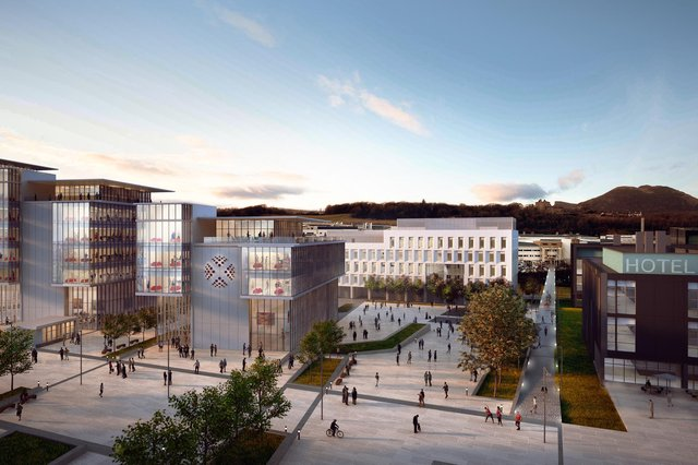 How it is hoped that the expanded Edinburgh BioQuarter will look. Picture: contributed.