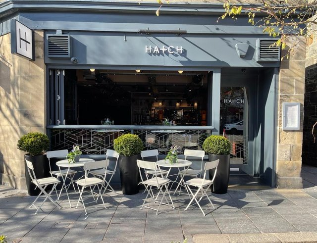 HATCH, the new restaurant in St Andrews