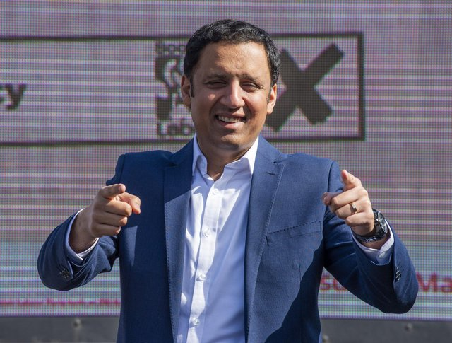 Anas Sarwar was challenged on his stance on an independence referendum.