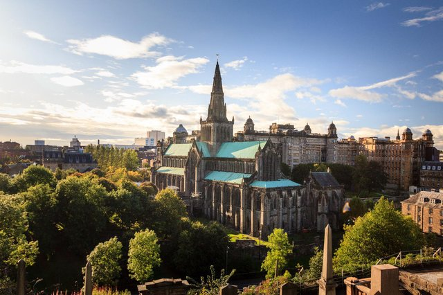 Glasgow Fair started as a market held in the surroundings of Glasgow Cathedral (Shutterstock)