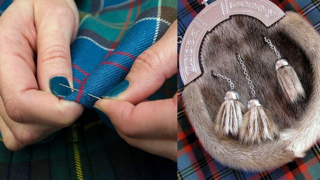 Kilt-making is on the 'endangered' list and sporran-making is on the 'critically endangered' red list for crafts at risk in the UK.