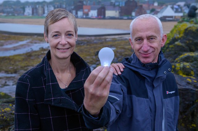 People's Energy, the UK's first community interest company energy supplier, was founded by Karin Sode and David Pike. Picture: Sandy young Photography