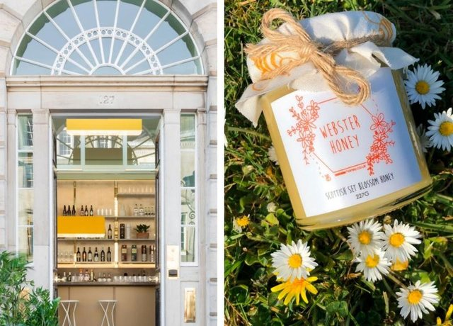 Scottish sustainable honey company Webster Honey has agreed to put four hives on the roof of Eden Locke.