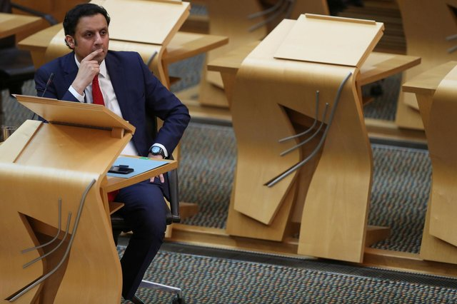 Anas Sarwar raised concerns about a failure to support people seeking mental health help.