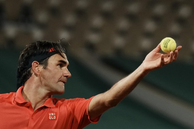 Roger Federer has pulled out of the French Open to concentrate on the grass-court season. Picture: Thibault Camus/AP