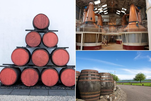 Taking a tour of a distillery offers a fascinating insight into how whisky - or gin - is made in Scotland.