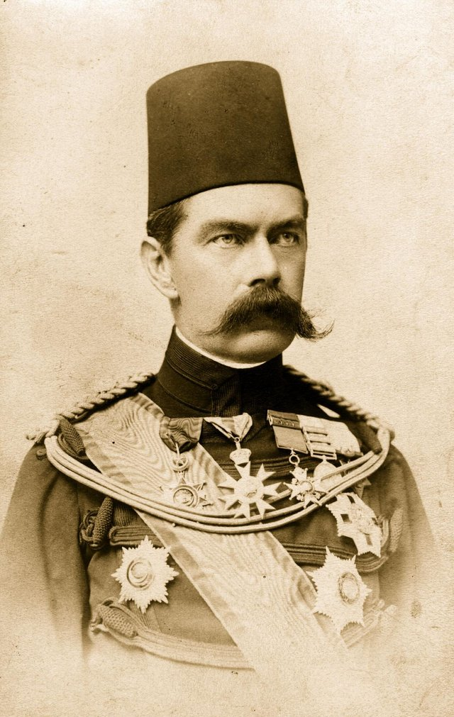 Horatio Kitchener, 1st Earl Kitchener of Khartoum, was a soldier and statesman who symbolised the British Empire (Picture: I Heyman/Getty Images)