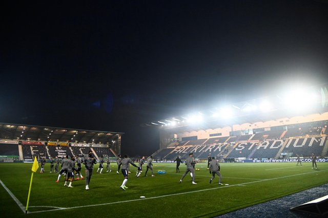 Falkirk will be one of the teams set to return to trainng. Picture: SNS