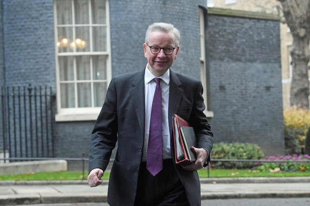 UK Cabinet minister Michael Gove said relocating government department jobs outside of London meant 'more people making decisions are closer to those affected by those decisions' (Picture: Kirsty O'Connor/PA)