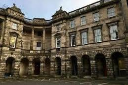 Edinburgh's Court of Session. Roddy Dunlop QC has called for in-person hearings to again become the default position