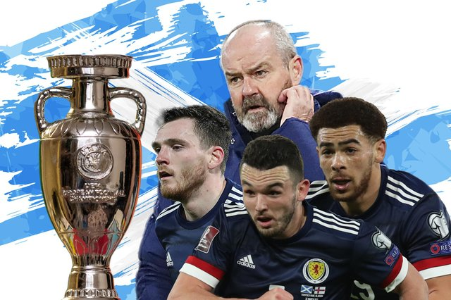 Scotland are joined by England, Croatia and Czech Republic in their Euro 2020 group.
